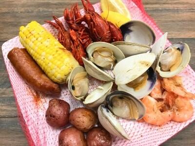 Low Country Boil from Euclid Fish Company